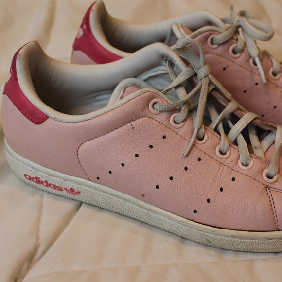 size 40 4470b 26ff8 Adidas // Pastel Pink Stan Smith Sneakers